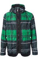 Moncler Gamme Bleu Kway Printed Jacket - Lyst