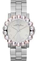 Marc By Marc Jacobs Womens Amy Stainless Steel Bracelet 42mm - Lyst