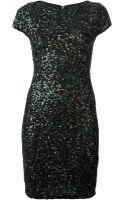 Alice + Olivia Taryn Embellished Dress - Lyst