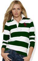 Ralph Lauren Blue Label Cotton Jersey Rugby - Lyst