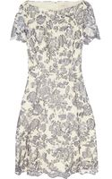 Tory Burch Summer Guipure Lace Mini Dress - Lyst