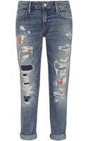 Denim & Supply Ralph Lauren Skinny Barstow Boyfriend Jeans - Lyst