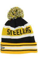 New Era Pittsburgh Steelers Jake Knit Hat - Lyst