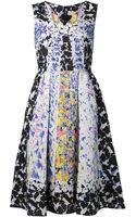 Peter Pilotto Cloque Dress - Lyst