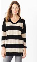 Gap Stripe Merino Sweater Tunic - Lyst