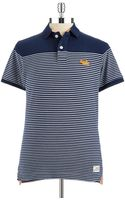 Superdry Striped Polo Shirt - Lyst