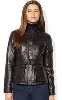 Lauren by Ralph Lauren Monza Leather - Lyst