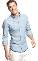 Tommy Hilfiger Dixie Chambray Shirt - Lyst