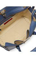Valentino Rockstud Medium Shopper Bag Blue - Lyst