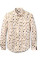 Naked & Famous Cats Dogs Shirt - Lyst
