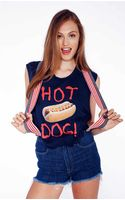 Wildfox Couture Hot Dog Chad Tank - Lyst