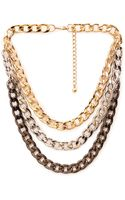 Forever 21 Layered Rolo Chain Necklace - Lyst