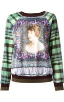 Clover Canyon All Over Print Sweatshirt - Lyst