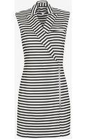 Veronica Beard Striped Blazer Dress - Lyst