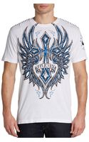 Affliction Graphic Cotton Tee - Lyst