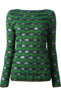 M Missoni Woven Sweater - Lyst