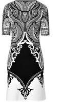 Etro Wool Blend Intarsia Knit Dress - Lyst