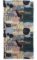 Burberry Prorsum Cashmere Illustrated Stories Scarf - Lyst