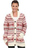 Woolrich Darlington Wool Cardigan - Lyst