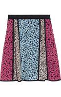 Marc By Marc Jacobs Bianca Floral-print Silk Crepe De Chine Mini Skirt - Lyst