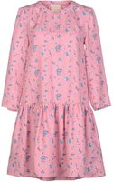 Girl. By Band Of Outsiders Short Dress - Lyst