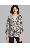 Joie Blouse Addie B Animal Print - Lyst
