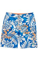 Tommy Bahama Tropical Patterned Swim Trunks - Lyst