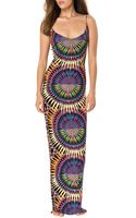 Mara Hoffman Lace Up Back Maxi Dress - Lyst