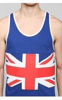 Urban Outfitters Uk Flag Tank Top - Lyst
