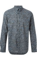 Paul Smith Floral Print Shirt - Lyst