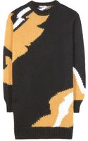 Miu Miu Woolblend Sweater Dress - Lyst