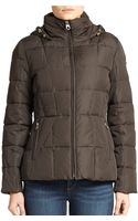 Calvin Klein Hooded Puffer Jacket - Lyst