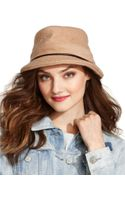 Nine West Solid Boucle Soft Fedora - Lyst