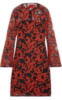 Diane Von Furstenberg Gadie Cotton Blend Lace Dress - Lyst