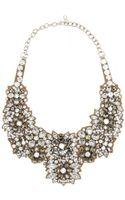 Valentino Crystalembellished Satin Necklace - Lyst