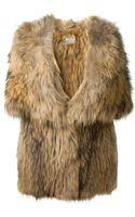Meteo By Yves Salomon Raccoon Fur Hooded Jacket - Lyst