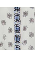 Etro Multicolour Print Silk Tunic - Lyst
