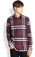 Burberry Brit Bartley Check Flannel Shirt - Lyst