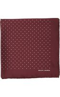 Ralph Lauren Black Label Pin Dot Pocket Square - Lyst