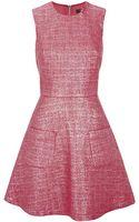 Markus Lupfer Iridescent Tweed Charlotte Dress - Lyst
