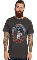 Obey Blackbird Lightweight Pigment Tee - Lyst