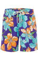 Polo Ralph Lauren Floral Print Swim Short - Lyst