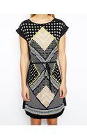 Oasis Mombassa Printed Tshirt Dress - Lyst