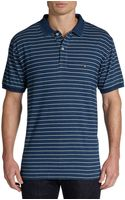 Gant Breton Striped Cotton Polo Shirt - Lyst
