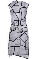 Christopher Kane Kneelength Dress - Lyst