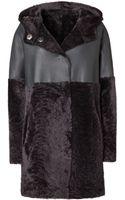 Iris Von Arnim Leather Coat Temuco - Lyst
