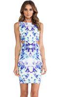 Donna Mizani Cut Out Mini Dress - Lyst