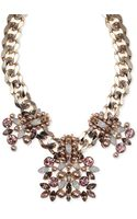 Givenchy Rose Goldtone Vintage Rose Drama Collar Necklace - Lyst
