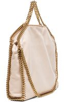 Stella McCartney Small Falabella Fold Over Tote - Lyst