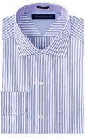 Tommy Hilfiger Purple Stripe Dress Shirt - Lyst